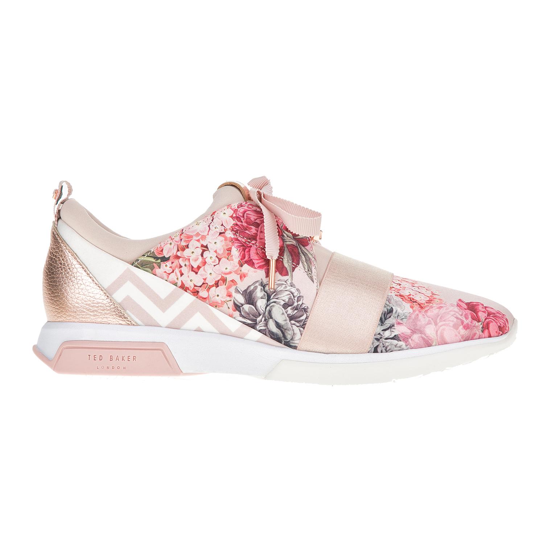 TED BAKER – Γυναικεία sneakers CEPAP με φλοράλ μοτίβο