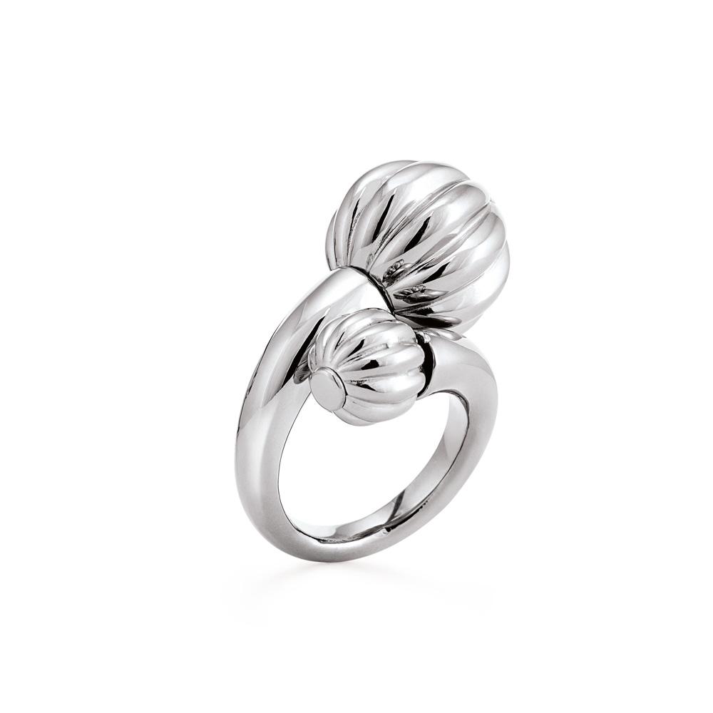 FOLLI FOLLIE - Γυναικείο δαχτυλίδι FOLLI FOLLIE ασημί
