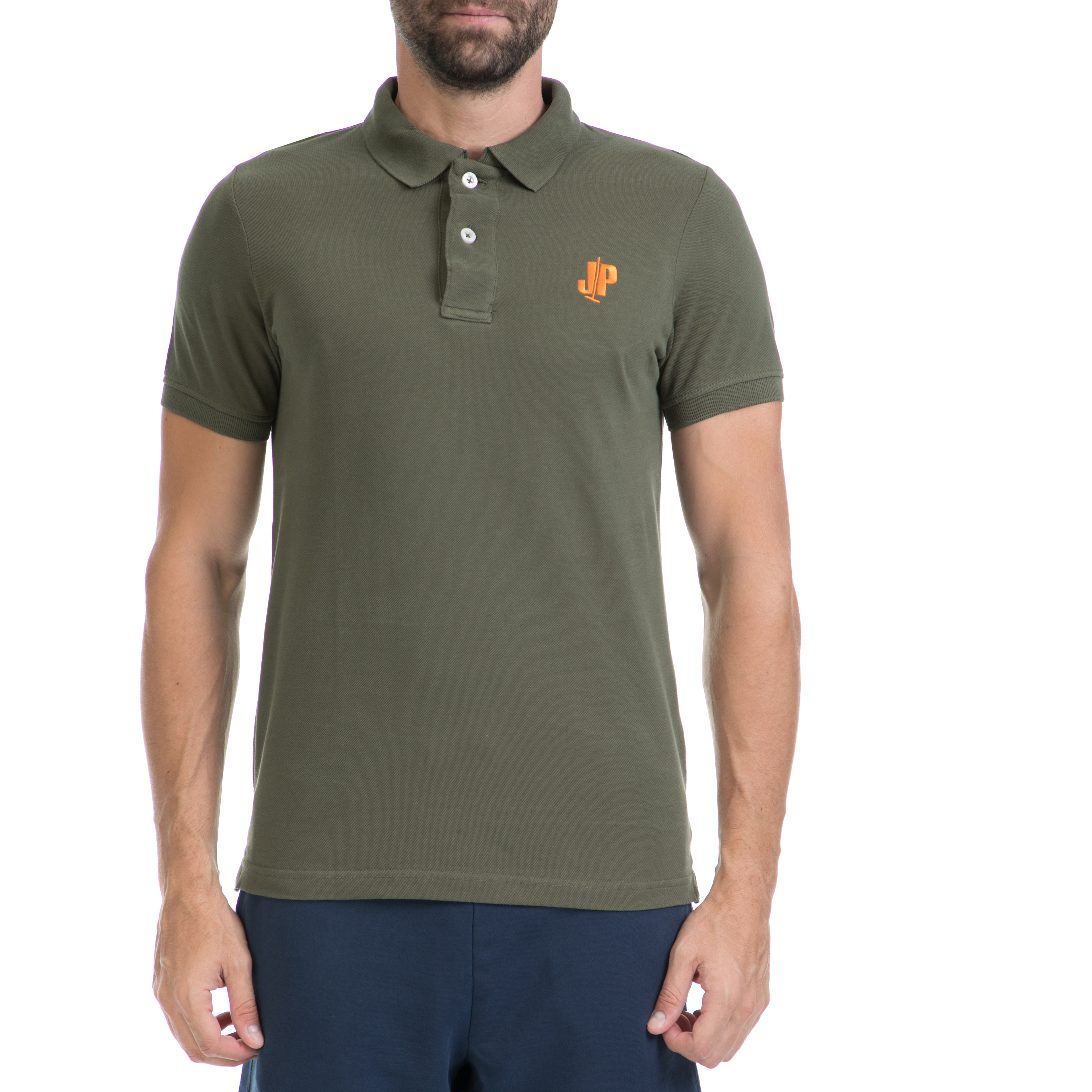 JUST POLO - Ανδρική μπλούζα Just Polo χακί 213d7ac2f94