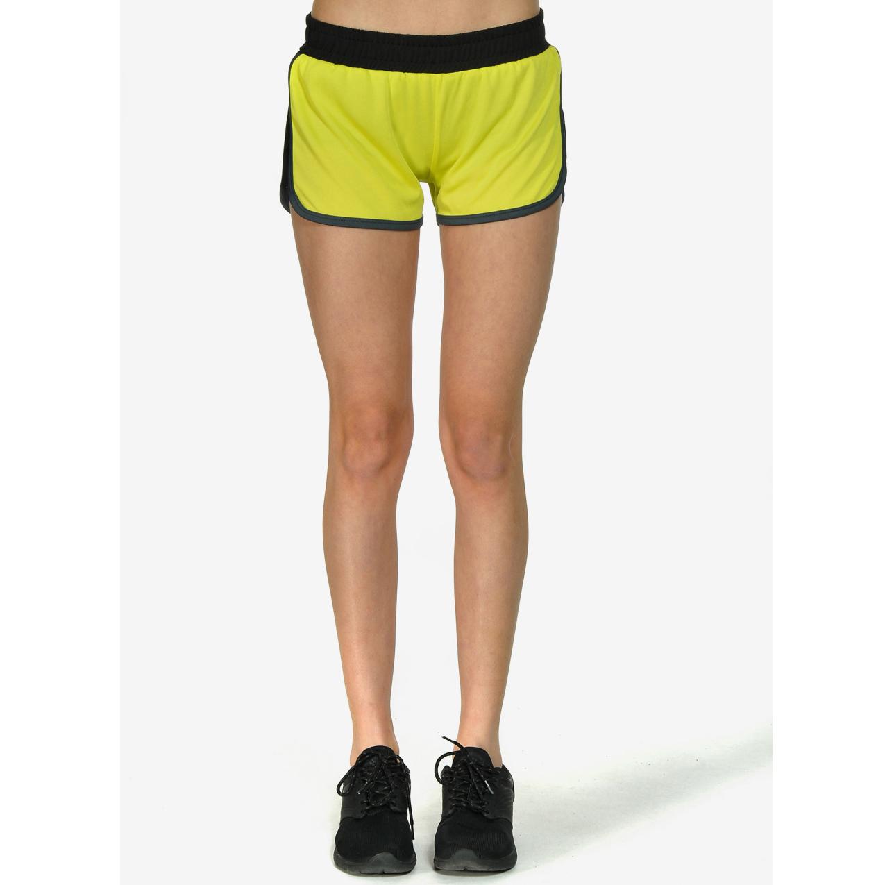BODYTALK - Γυναικείο σορτς BODYTALK κίτρινο γυναικεία ρούχα σορτς βερμούδες αθλητικά