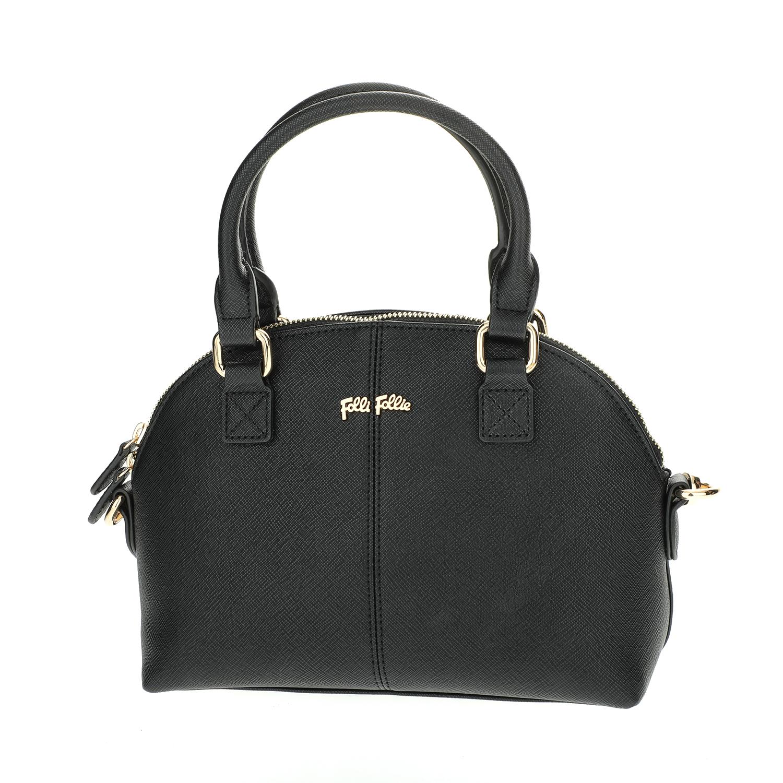 FOLLI FOLLIE - Γυναικεία μικρή τσάντα χειρός Folli Follie μαύρη γυναικεία αξεσουάρ τσάντες σακίδια χειρός