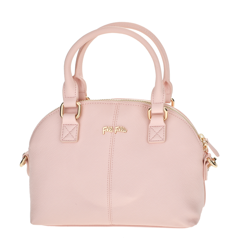 FOLLI FOLLIE - Γυναικεία μικρή τσάντα χειρός Folli Follie ροζ γυναικεία αξεσουάρ τσάντες σακίδια χειρός
