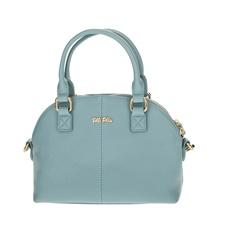 FOLLI FOLLIE-Γυναικεία μικρή τσάντα χειρός Folli Follie γαλάζια