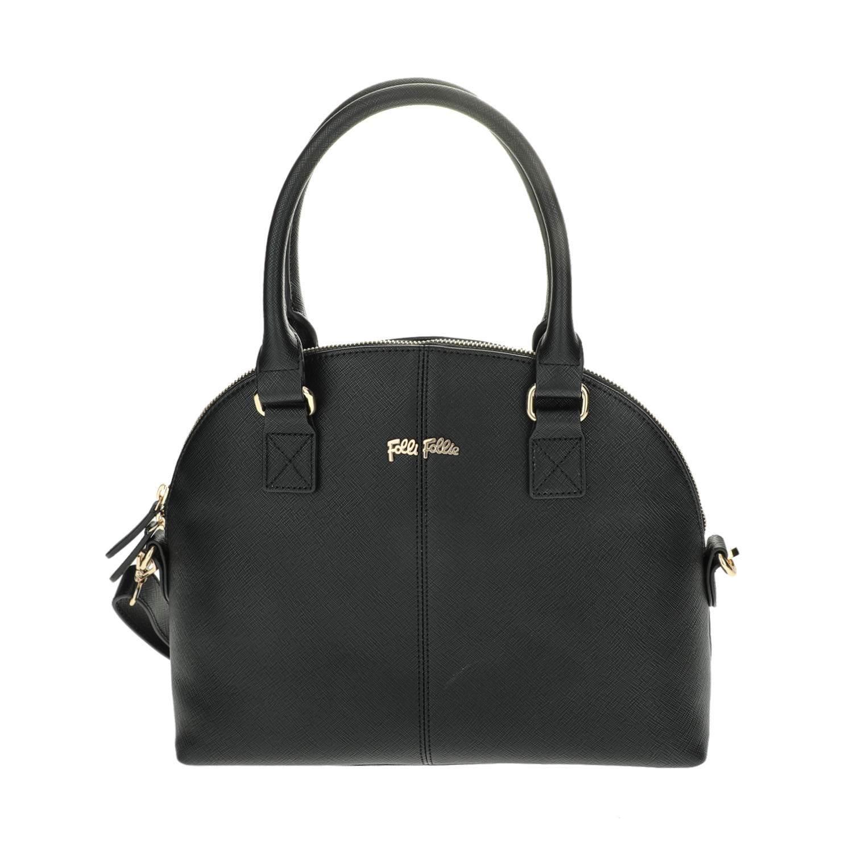 FOLLI FOLLIE - Γυναικεία μεγάλη τσάντα χειρός Folli Follie μαύρη γυναικεία αξεσουάρ τσάντες σακίδια χειρός