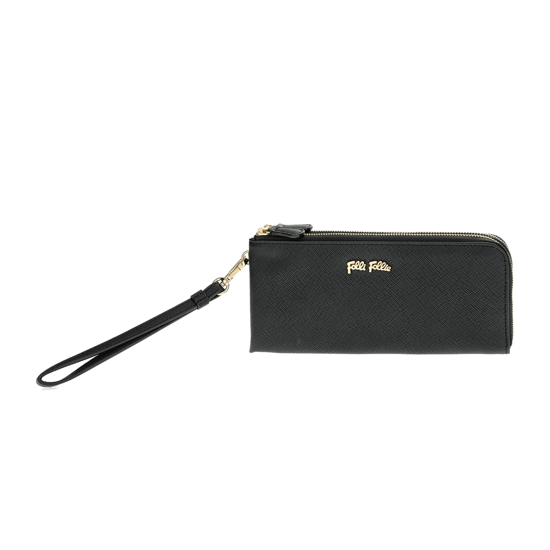 FOLLI FOLLIE – Γυναικείο πορτοφόλι με φερμουάρ Folli Follie μαύρο
