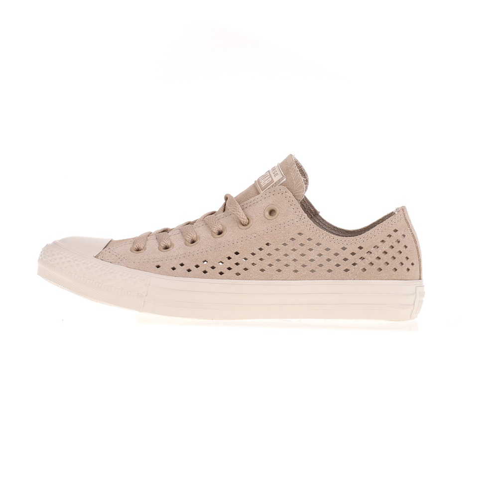 CONVERSE – Unisex sneakers CONVERSE Chuck Taylor All Star Ox μπεζ