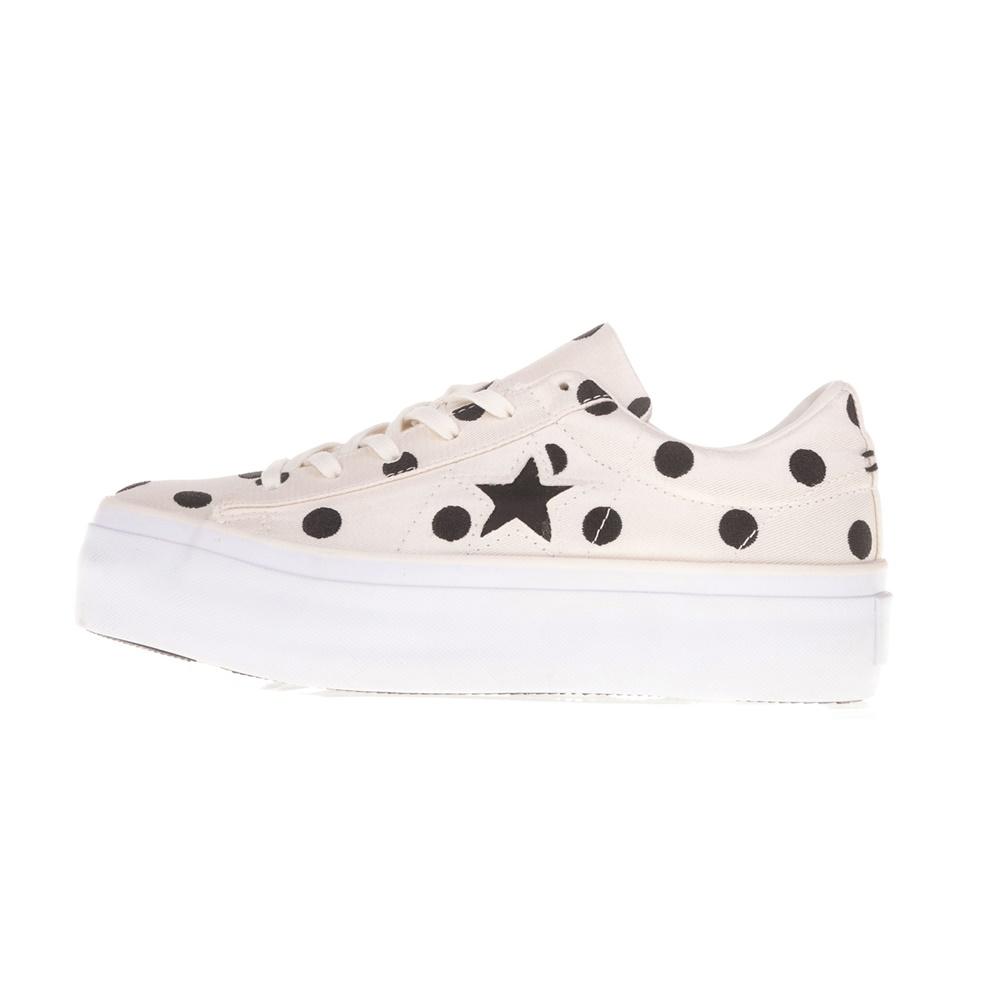a461b015249 CONVERSE - Γυναικεία παπούτσια CONVERSE One Star Platform Ox μπεζ