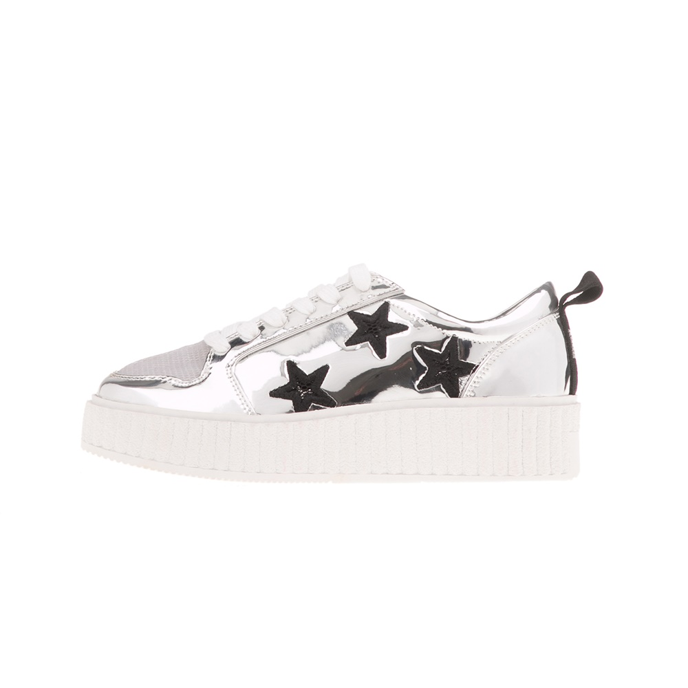 JUICY COUTURE – Γυναικεία sneakers DELLA JUICY COUTURE ασημί