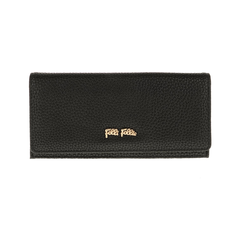 442ee0b9082b FOLLI FOLLIE – Γυναικείο πορτοφόλι FOLLI FOLLIE μαύρο – Online Ρούχα