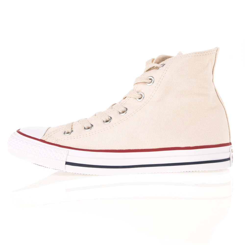 CONVERSE – Unisex ψηλά sneakers CONVERSE CHUCK TAYLOR ALL STAR εκρού