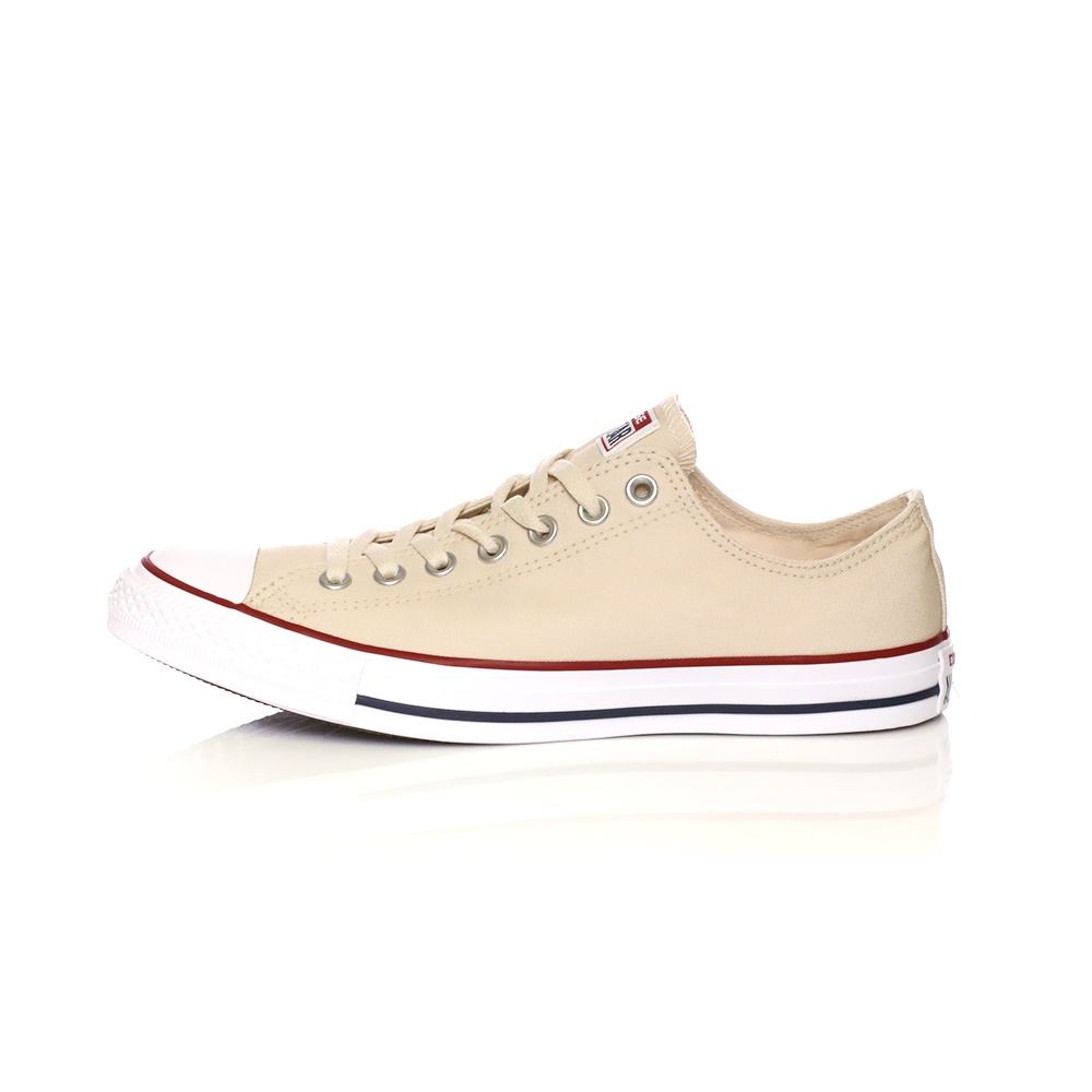 CONVERSE – Unisex sneakers CONVERSE CHUCK TAYLOR ALL STAR μπεζ