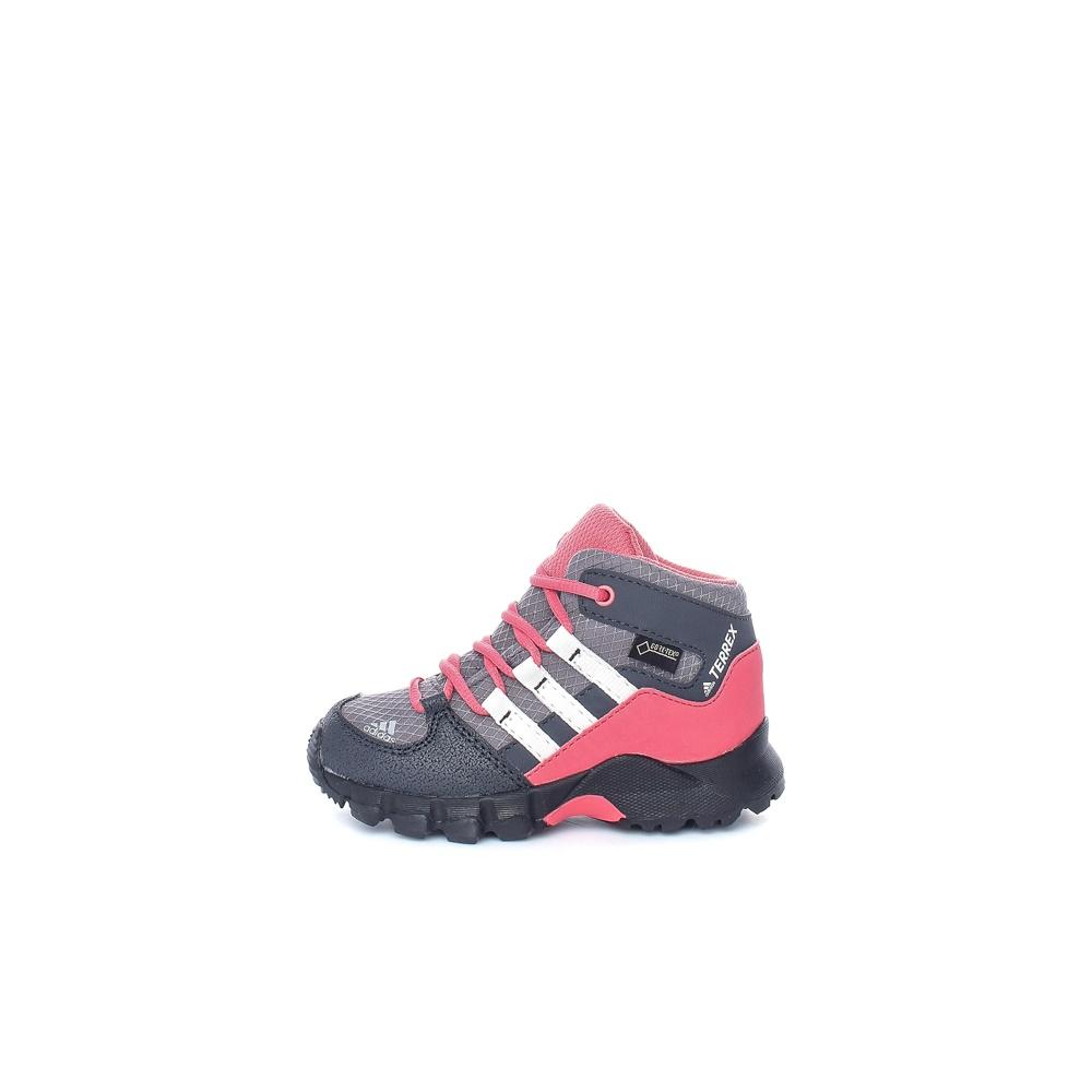 adidas – Βρεφικά παπούτσια TERREX MID GTX μαύρα-κόκκινα