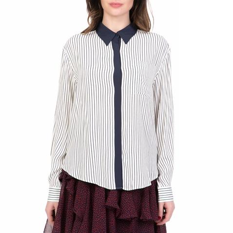 459ddbf0f553 Γυναικείο μακρυμάνικο πουκάμισο STRIPE JUICY COUTURE λευκό-μπλε  (1619776.0-01e4)