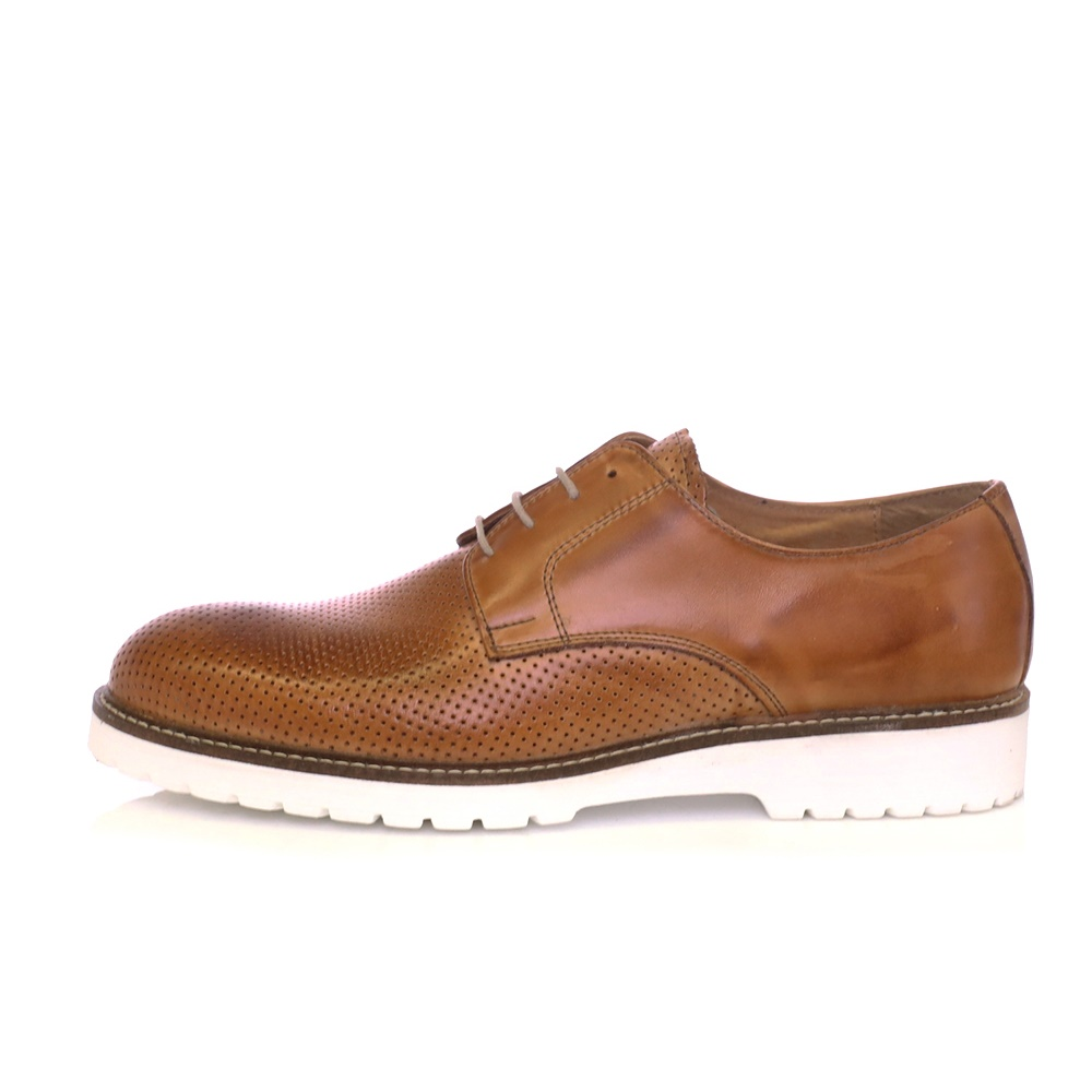 SORBINO - Ανδρικά παπούτσια SORBINO καφέ ανδρικά παπούτσια δετά επίσημα