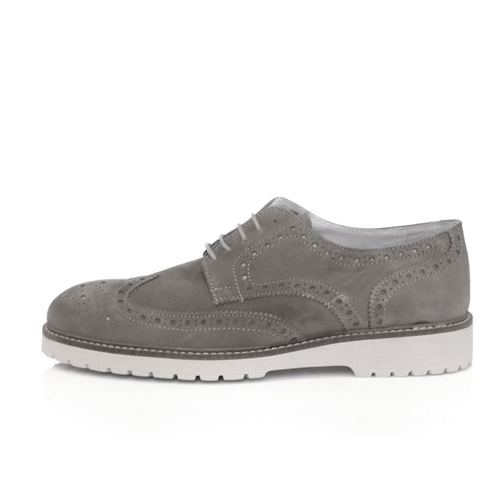 SORBINO – Ανδρικά δετά παπούτσια SORBINO γκρι