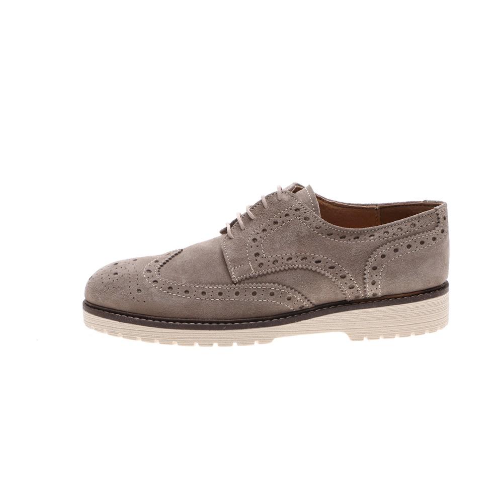 SORBINO – Ανδρικά δετά παπούτσια SORBINO FRANCESINA μπεζ