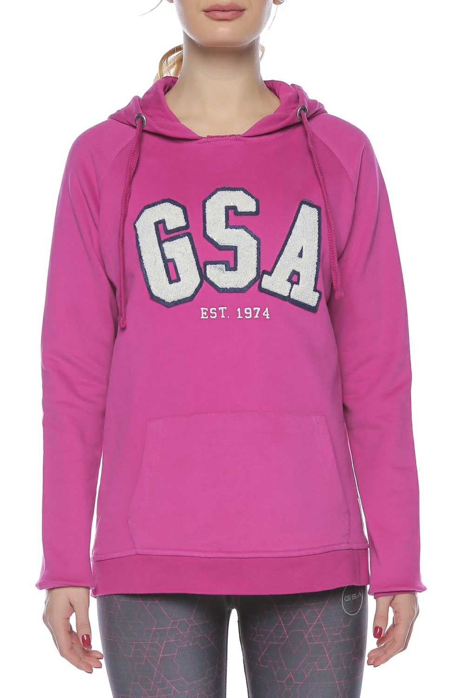 GSA - Γυναικείο φούτερ GLORY φούξια γυναικεία ρούχα αθλητικά φούτερ μακρυμάνικα