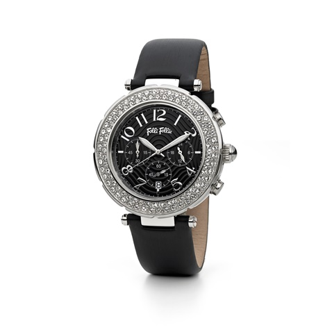 408f62201c Γυναικείο ρολόι Folli Follie BEAUTIME μαύρο (1620391.0-0071 ...
