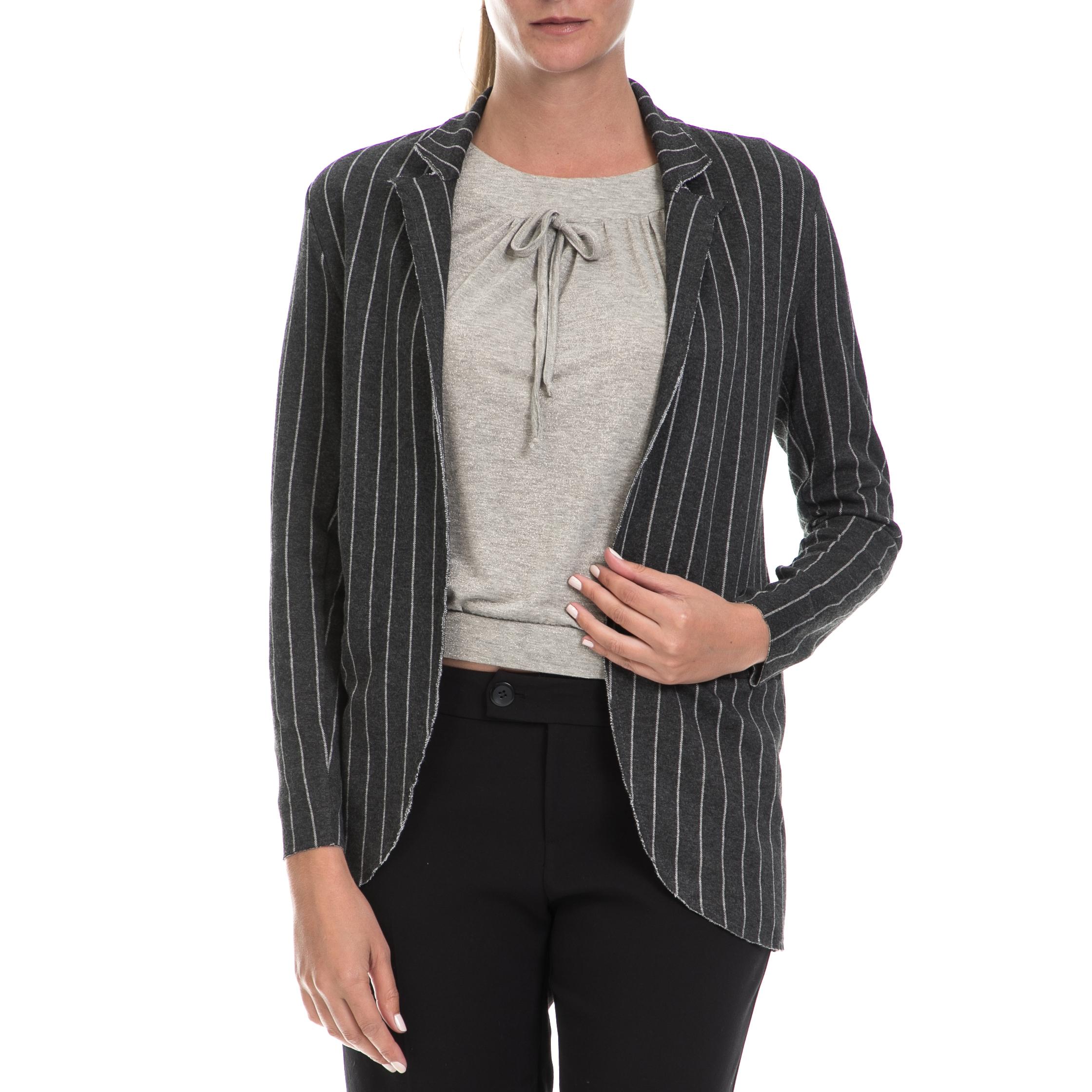 ALE - Γυναικείο σακάκι ALE γκρι γυναικεία ρούχα πανωφόρια σακάκια