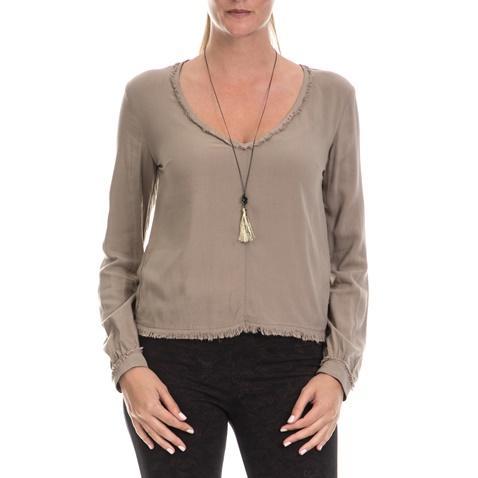 172c21fd9ff7 Γυναικεία μπλούζα  ALE μπεζ (1620786)