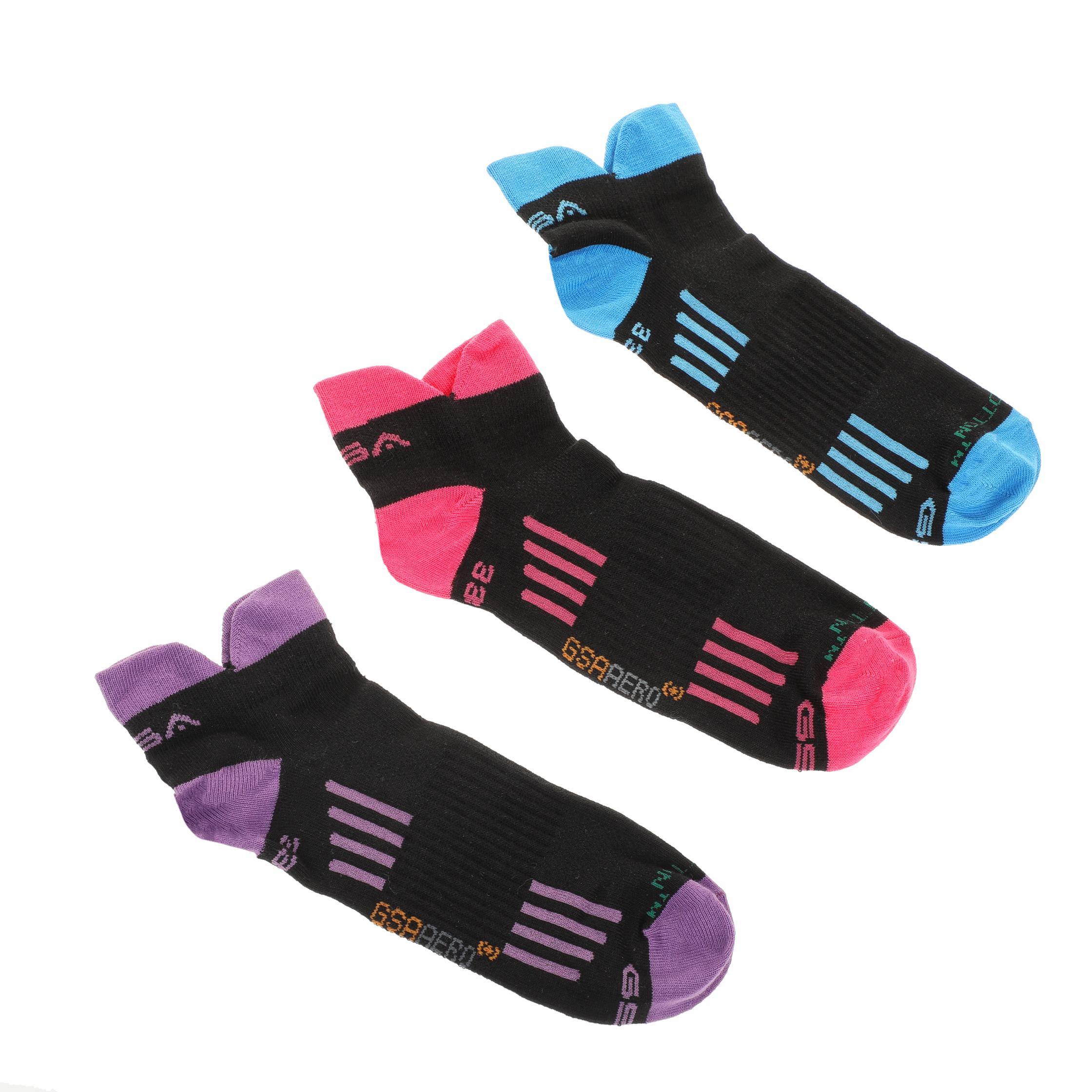 GSA - Σετ γυναικείες κάλτσες GSA AERO 330 TRAINER γυναικεία αξεσουάρ κάλτσες