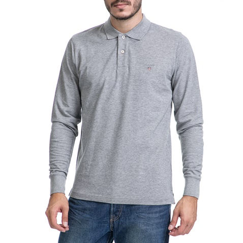 d871bae84afc Ανδρική μπλούζα GANT γκρι (1621778.0-0351)