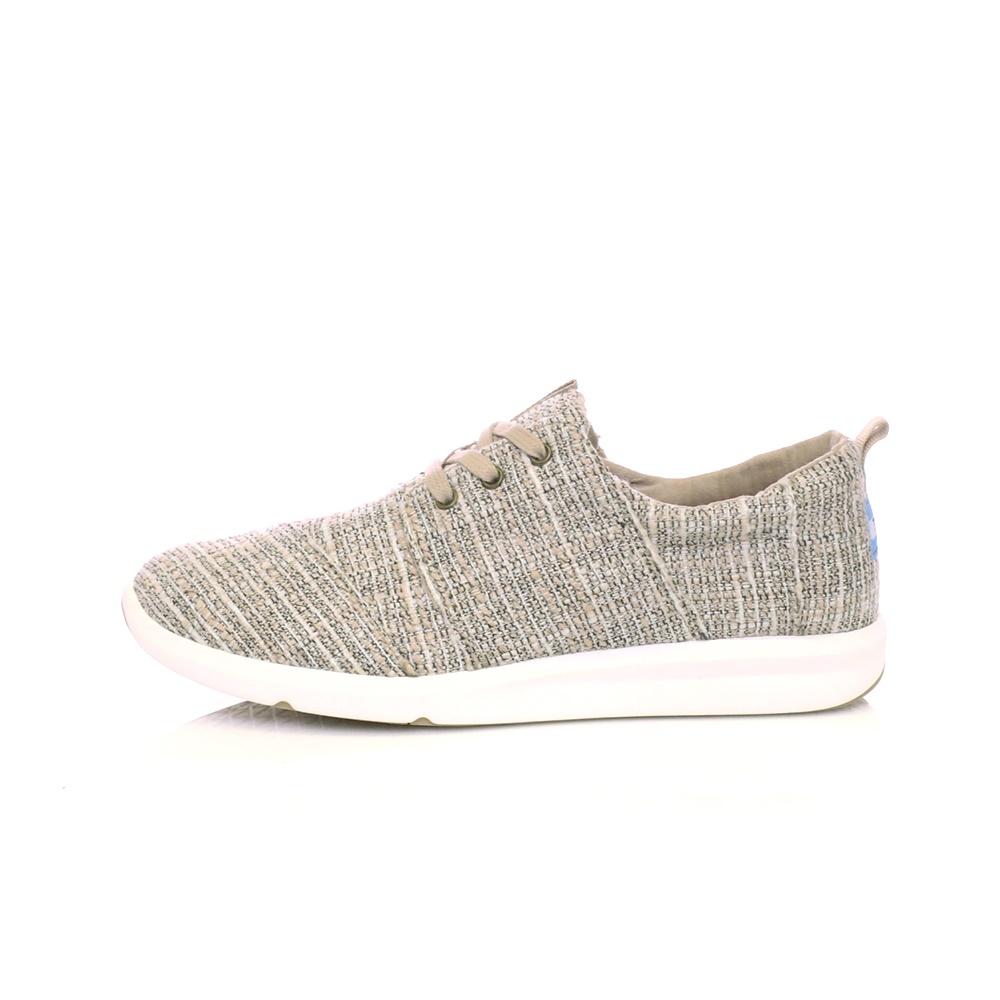 TOMS – Γυναικεία παπούτσια OXFORD TAN MLTICLR TWEED γκρι-μπεζ