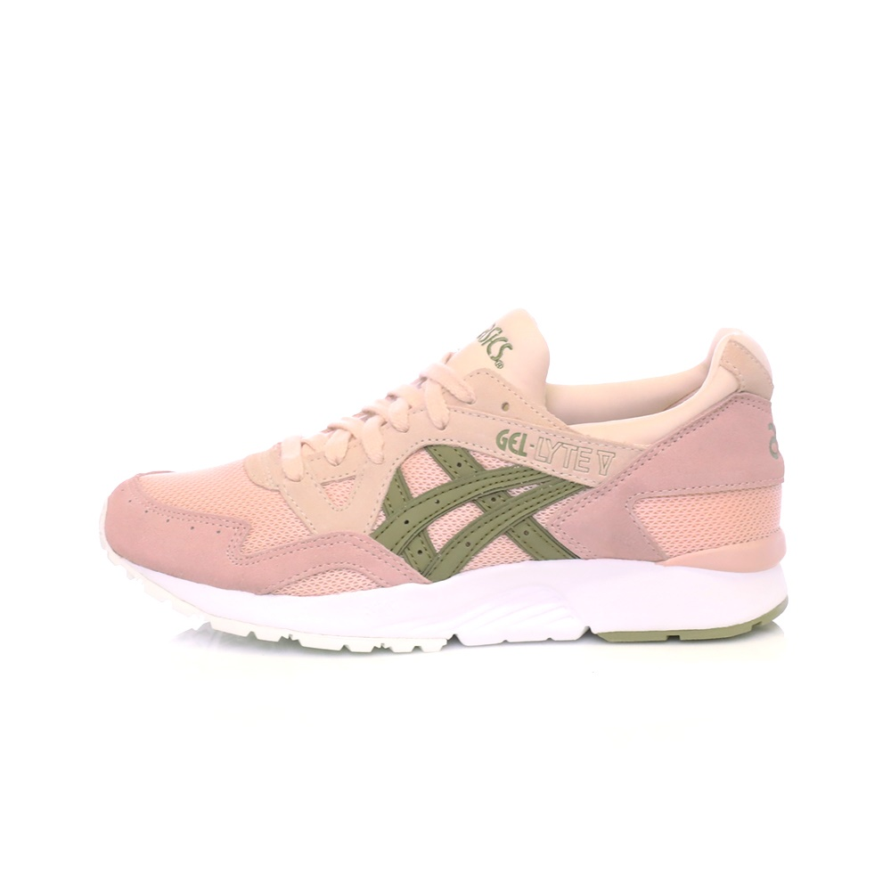 ASICS – Γυναικεία αθλητικά παπούτσια ASICS GEL-LYTE V EVENING ροζ-χακί 01de88d7514