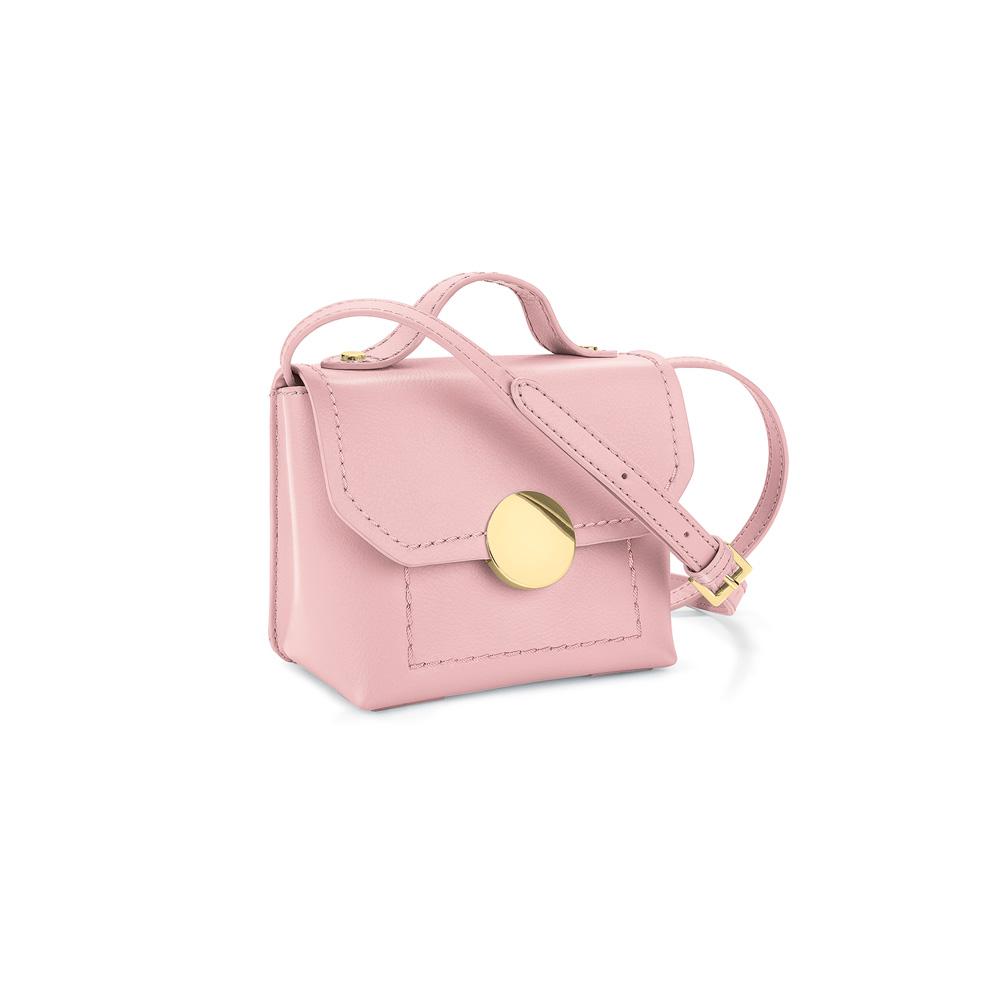 FOLLI FOLLIE - Γυναικείο τσαντάκι χιαστί FOLLI FOLLIE ροζ γυναικεία αξεσουάρ τσάντες σακίδια χιαστή   cross body