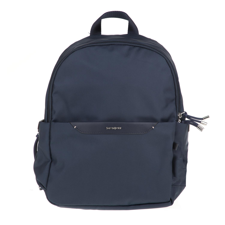 83f0c9df2c -44% SAMSONITE – Γυναικεία τσάντα πλάτης CASUAL 2.0 SAMSONITE μπλε σκούρη