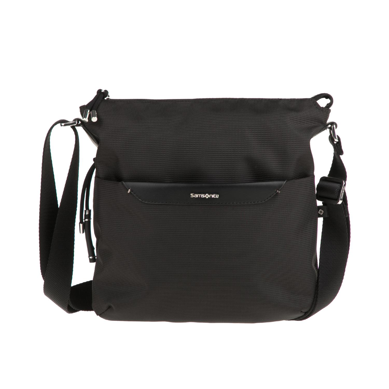 55b5fc8765 SAMSONITE – Γυναικεία τσάντα ώμου-χιαστί CASUAL 2.0 CROSSOVER μαύρη