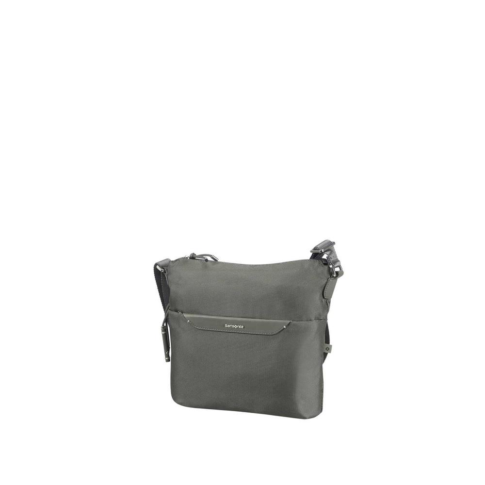 4d1ab8313b SAMSONITE - Γυναικεία τσάντα ώμου-χιαστί CASUAL 2.0 CROSSOVER χακί