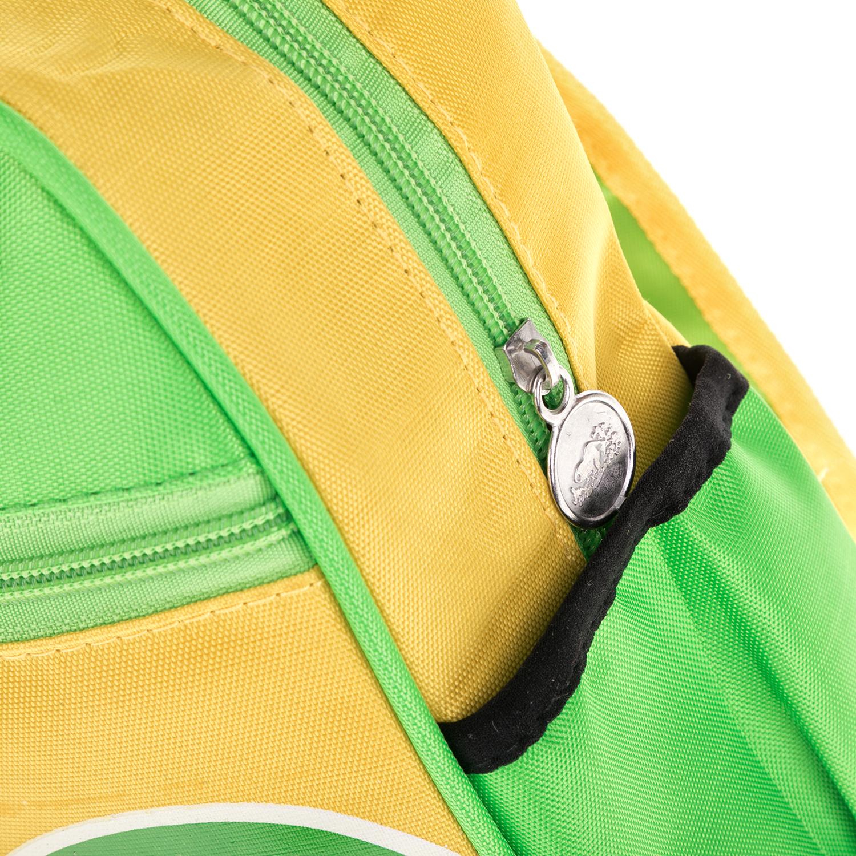 13d8f3d9a5c MOOD MAKERS - Τσάντα πλάτης Mood Makers πράσινη-κίτρινη, ΠΑΙΔΙ ...