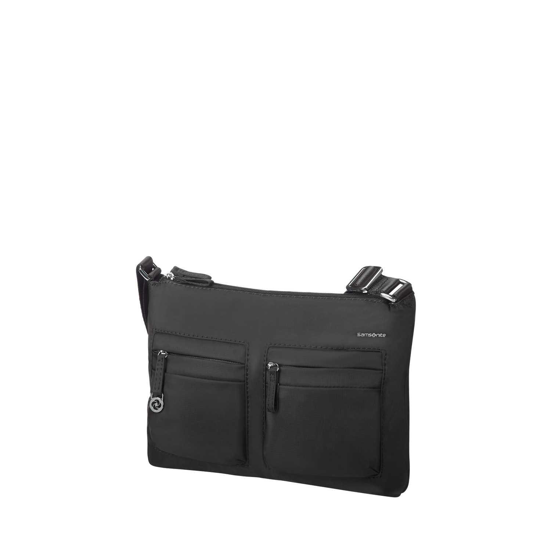 SAMSONITE - Γυναικεία τσάντα ώμου-χιαστί MOVE 2H.CROSSOVER μαύρη γυναικεία αξεσουάρ τσάντες σακίδια ταξιδίου