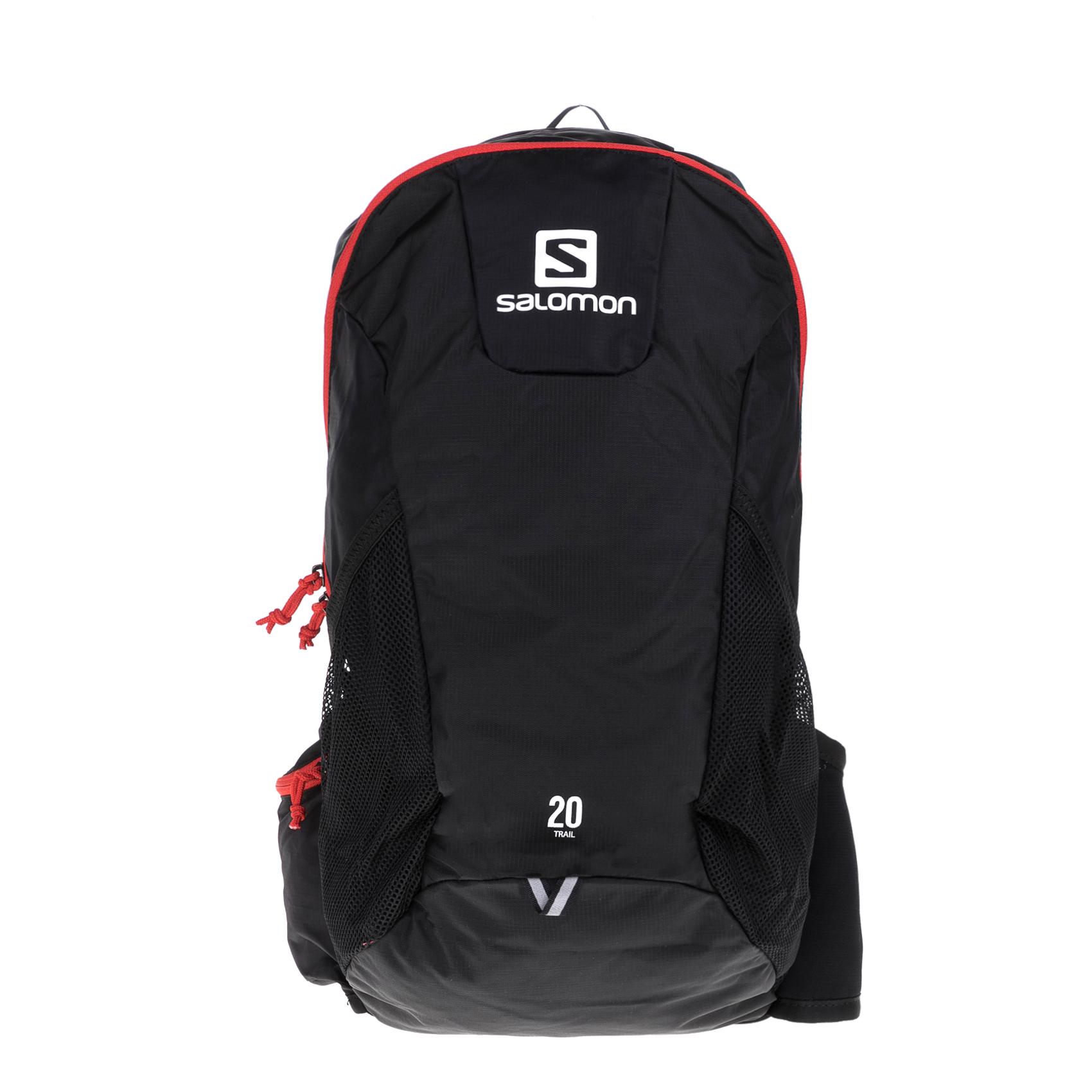 f5f76e17cc SALOMON - Σακίδιο πλάτης SALOMON PACKS BAG TRAIL 20 B μαύρο-κόκκινο