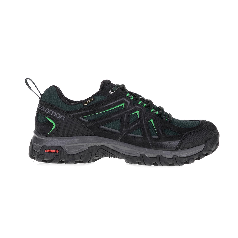 SALOMON – Ανδρικά παπούτσια HIKING and MULTIFUNCTION SHOE SALOMON μαύρα-πράσινα
