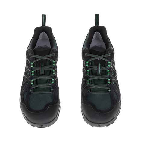 SALOMON-Ανδρικά παπούτσια HIKING and MULTIFUNCTION SHOE SALOMON μαύρα-πράσινα