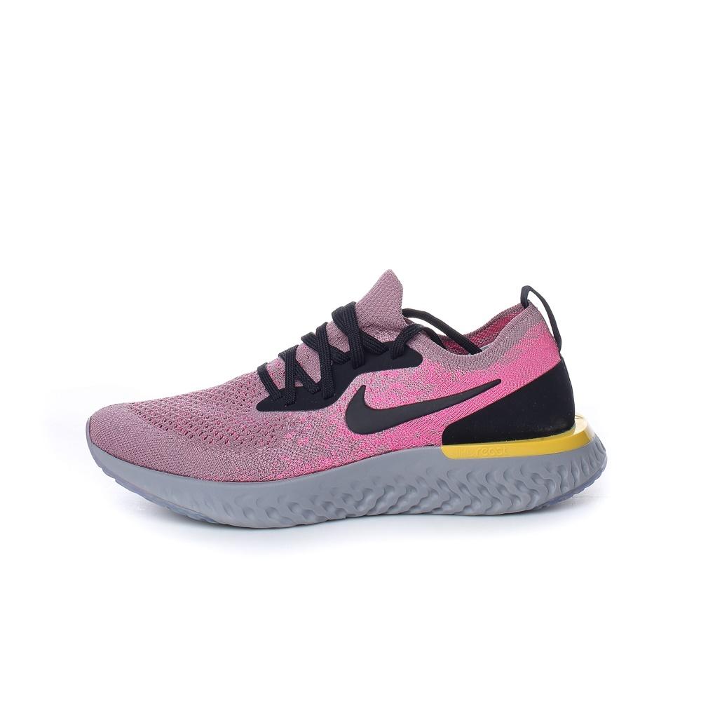 NIKE – Γυναικεία παπούτσια NIKE EPIC REACT FLYKNIT ροζ-μοβ