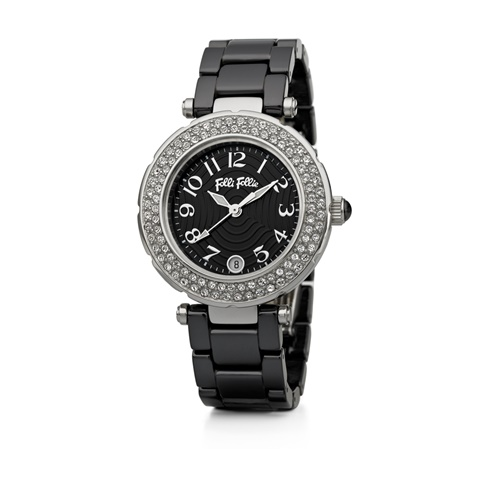 65145a661b Γυναικείο ρολόι Folli Follie BEAUTIME μαύρο (1624109.0-0000 ...