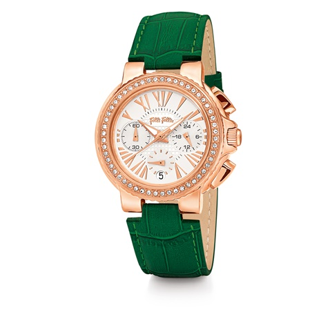 0c71e4cd81 Γυναικείο ρολόι Folli Follie πράσινο (1624477.0-0061)