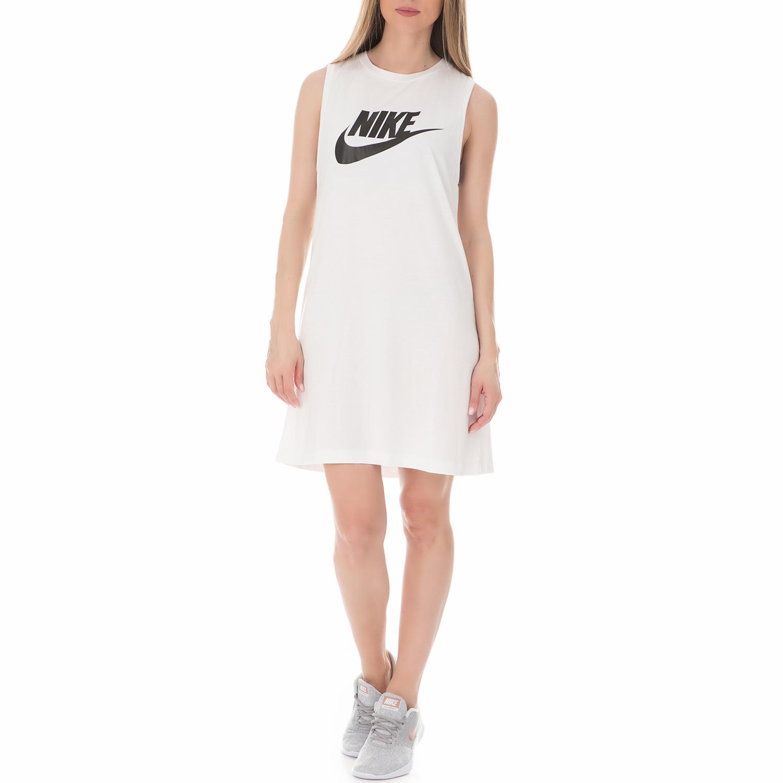 7c24b87173c NIKE - Γυναικείο αμάνικο φόρεμα Nike Sportswear λευκό
