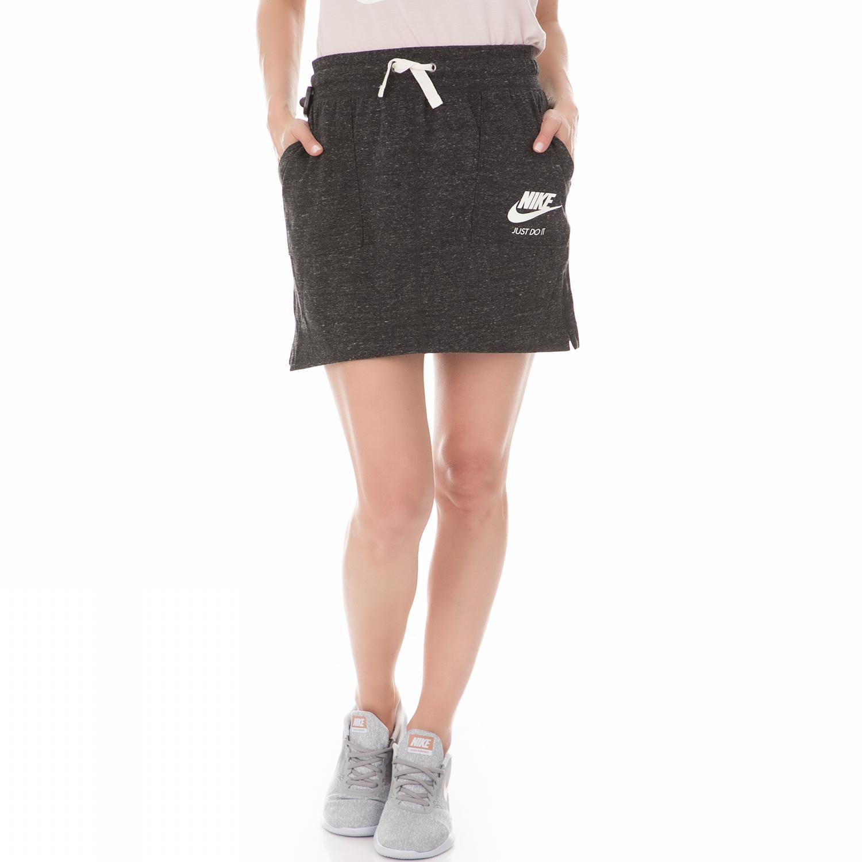 NIKE - Γυναικεία μίνι φούστα NIKE SW GYM VNTG ανθρακί