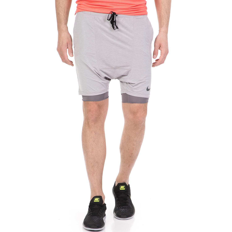 d8f820a8805 NIKE - Ανδρικό σορτς προπόνησης Nike Flex γκρι