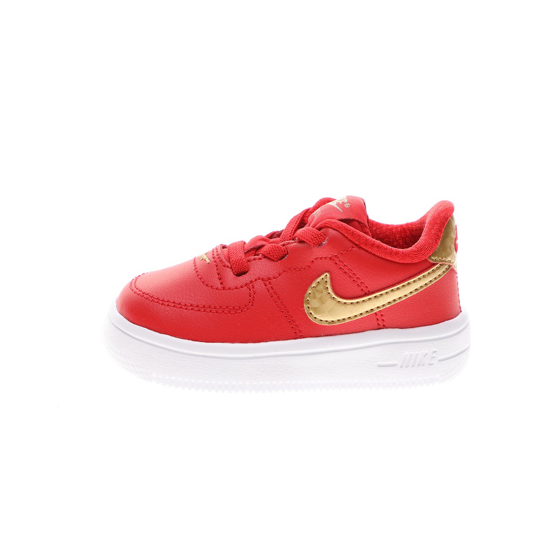 NIKE – Βρεφικά παπούτσια NIKE FORCE 1 '18 (TD) κόκκινα