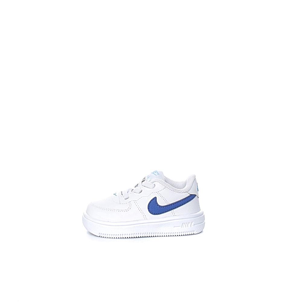 NIKE – Βρεφικά αθλητικά παπούτσια NIKE FORCE 1 '18 λευκά