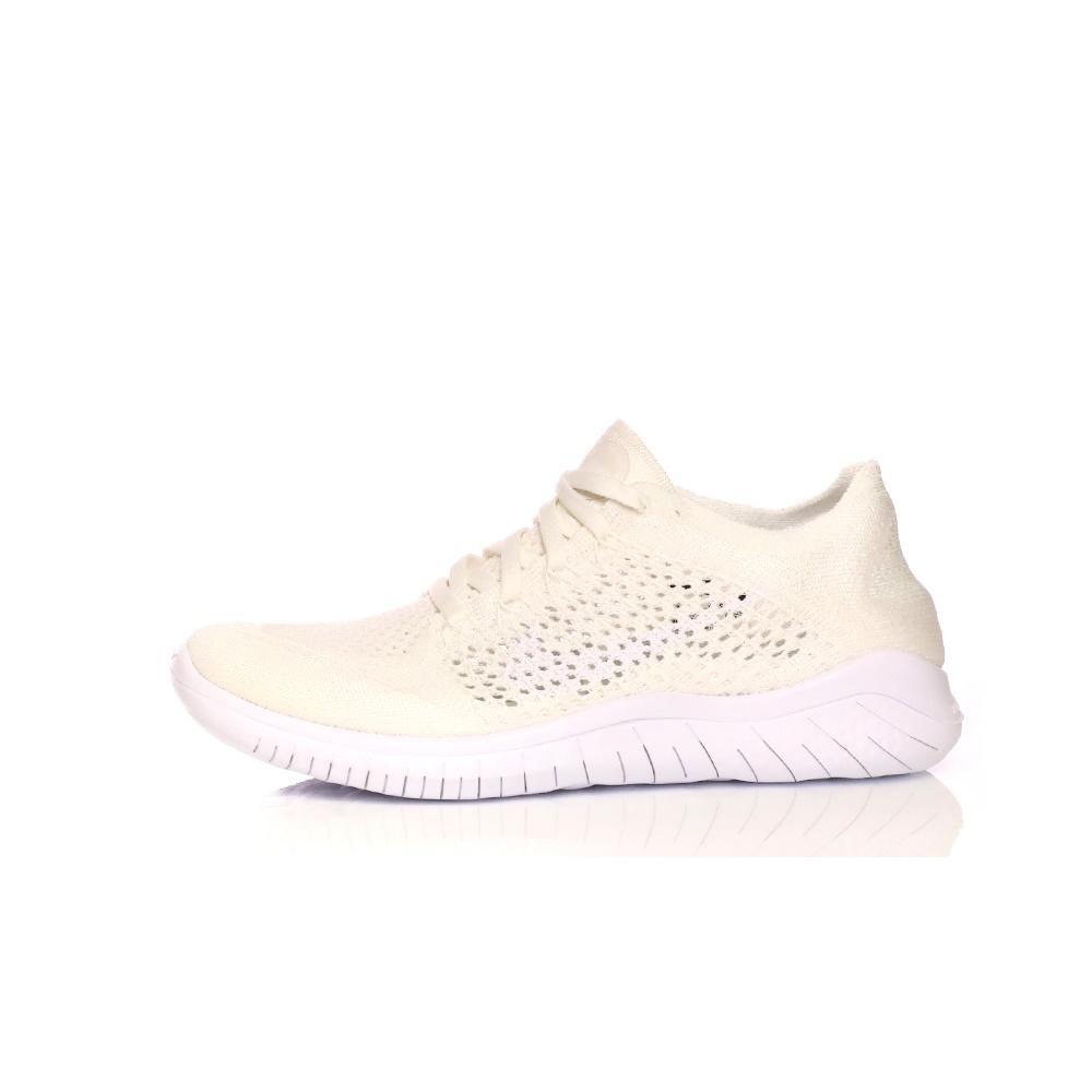 NIKE – Γυναικεία παπούτσια NIKE FREE RN FLYKNIT 2018 εκρού