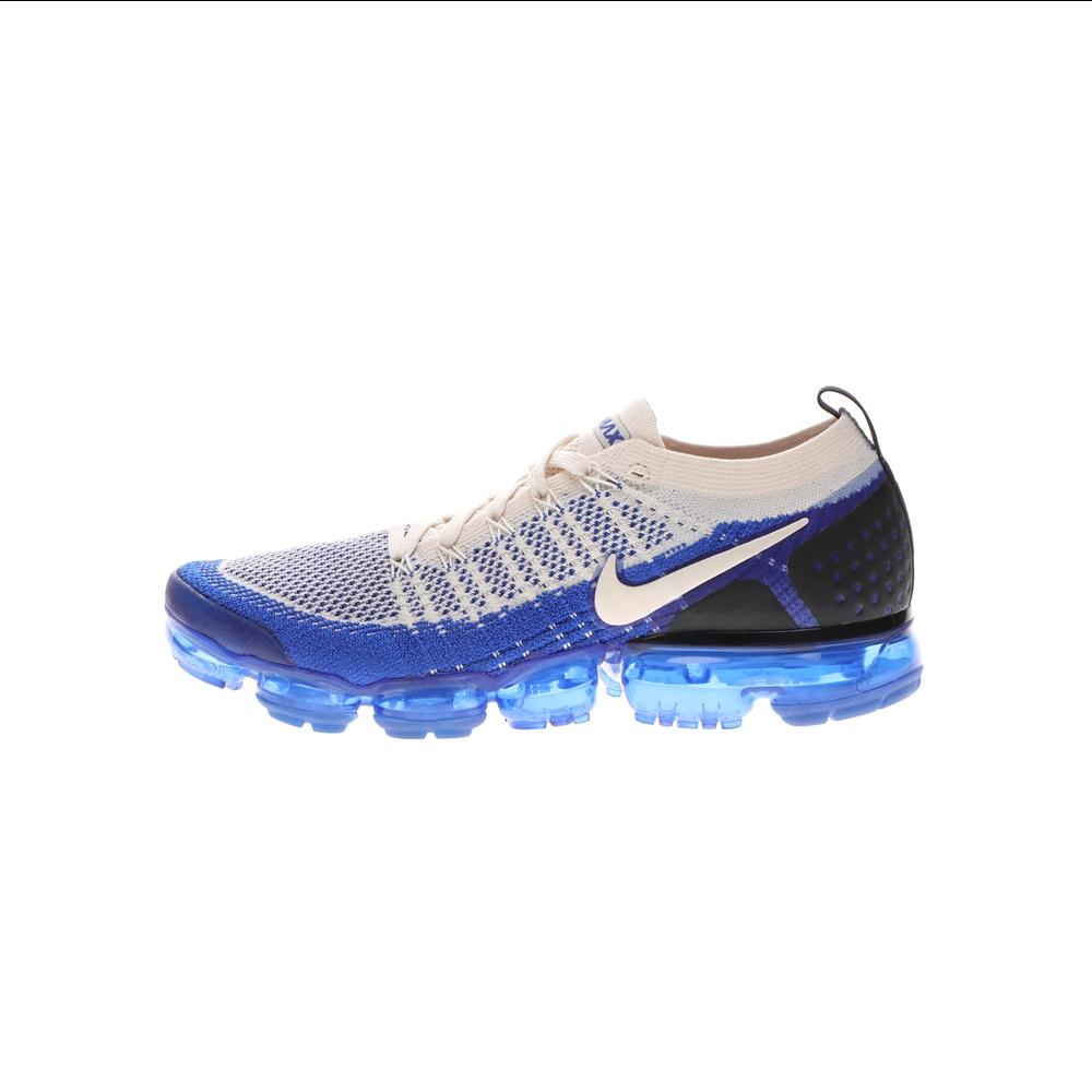 NIKE – Ανδρικά παπούτσια running NIKE AIR VAPORMAX FLYKNIT 2 εκρού μπλε