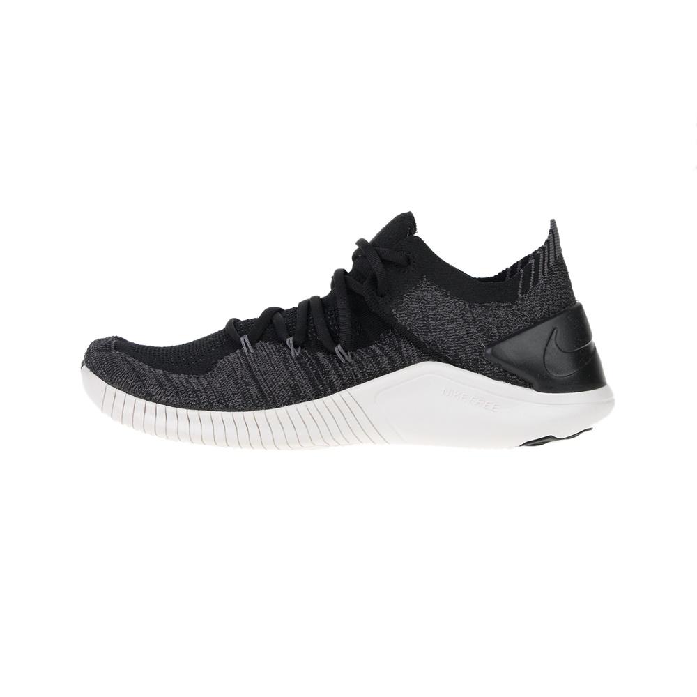 NIKE – Γυναικεία παπούτσια running NIKE FREE TR FLYKNIT 3 μαύρα γκρι
