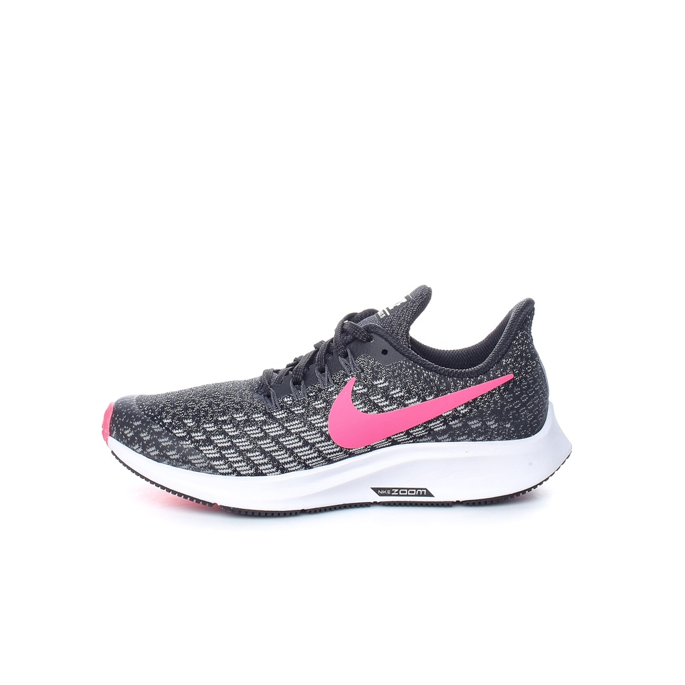NIKE – Κοριτσίστικα παπούτσια running NIKE AIR ZOOM PEGASUS 35 (GS) μαύρα-ροζ