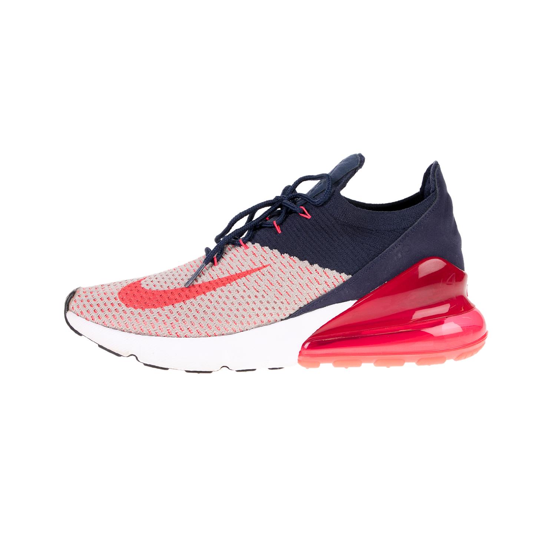 NIKE – Γυναικεία αθλητικά παπούτσια AIR MAX 270 FLYKNIT μπλε κόκκινα